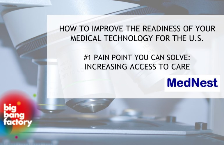 #1 Pain Point You Can Solve: Increasing access to care in the U.S.