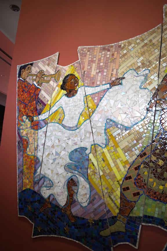 Percent For Art Mosaics By Mosaic Artist Cynthia Fisher