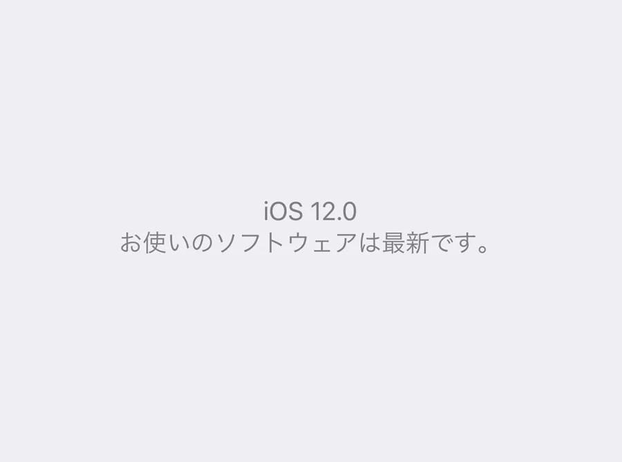 iOS 12.0