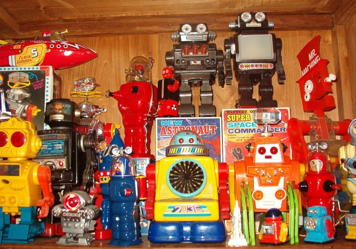 cool old robots