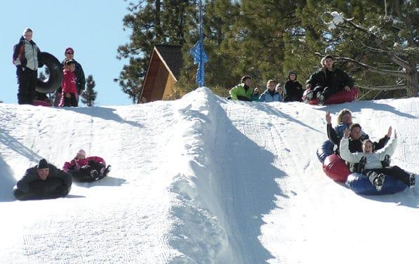 Area Play Big Bear Snow