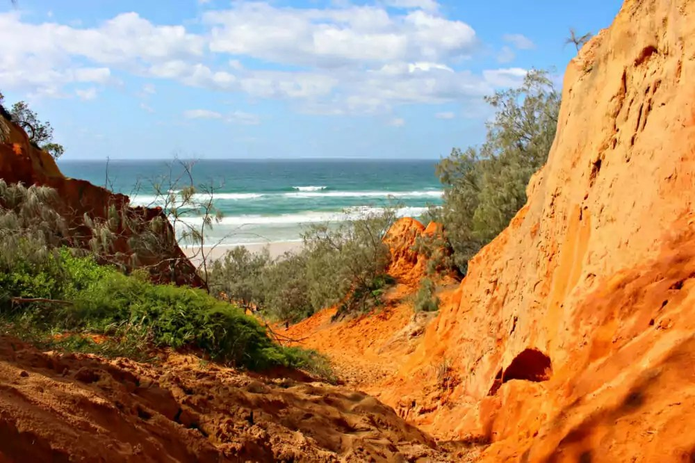 cooloola coast red canyon