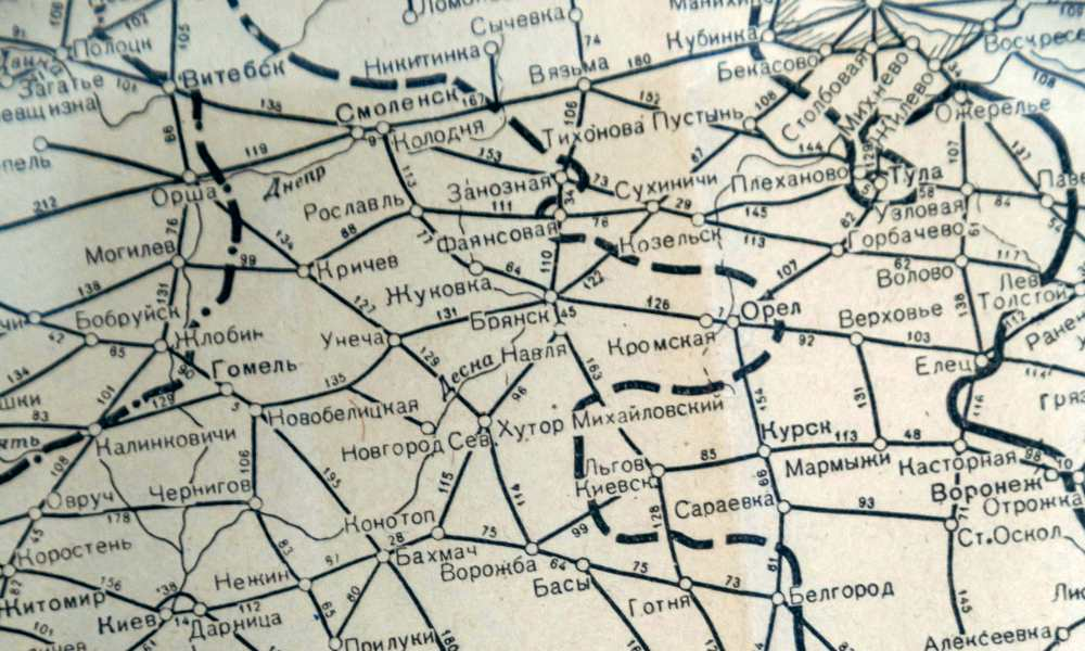 Map shows connections too and from cities