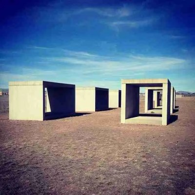Chinati Foundation Concrete Things in Marfa Texas