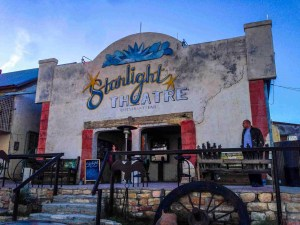 Starlight theatre in terlingua texas before it gets packed