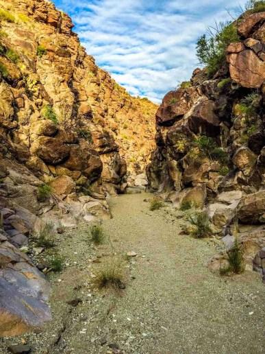 upper burro mesa pour off trail