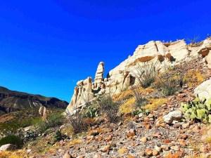 hoodoos in big bend ranch state park on fm 170
