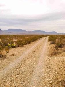 dirt road big bend