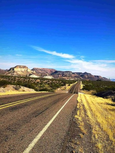 FM 170 through big bend ranch state park