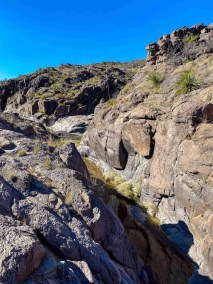 Cinco Tinaja Trail in Big Bend Ranch State Park
