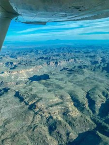 Big Bend from the sky with Rio Aviation