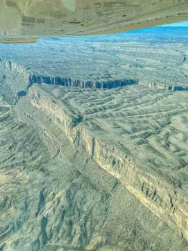 Santa Elena Canyon Big Bend from the sky with Rio Aviation