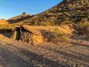 Luna's jacal in big bend national park