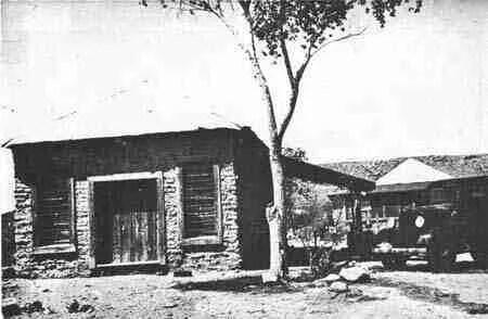 old general store from Glen Springs in Big Bend