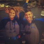 Big Brother Spoilers - Jeff and Jordan on top of Sydney Harbour Bridge