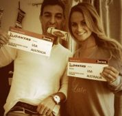 Big Brother Spoilers - Jeff and Jordan with tickets from Ellen Show