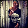 Big Brother 2013 Spoilers - Amanda Zuckerman models skull sweater