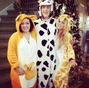 Big Brother 2013 Spoilers - Christmas Aaryn in Pajamas