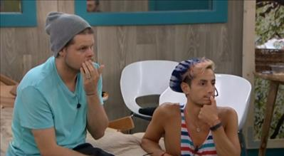 Big Brother 2014 Spoilers - Derrick and Frankie