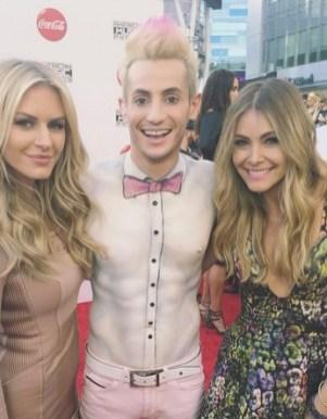 Big Brother 2014 Spoilers - Frankie Grande Shirtless At AMAs 12