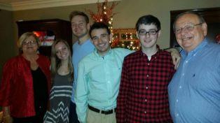 Ian Terry and family