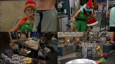 Christmas Time in the Big Brother house