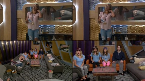 Big Brother Over the Top Week 5 POV Ceremony