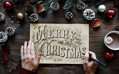 Jill and Kate are sending out Christmas cards worldwide for free