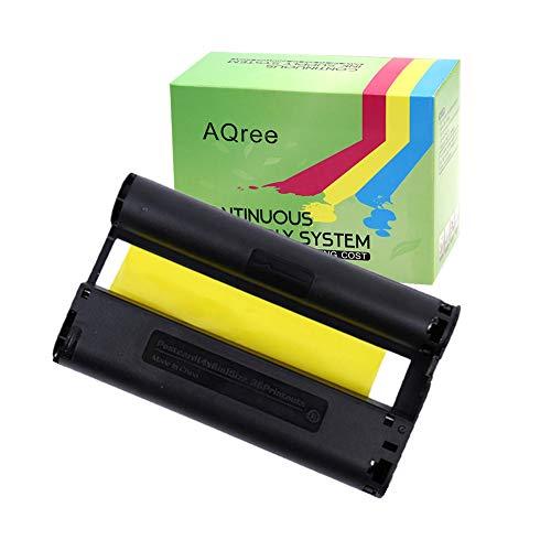 AQree兼容佳能4 x 6墨水適用於Selphy CP900 CP910 CP1200 CP1300打印機色帶(無紙) - Bigbigshop