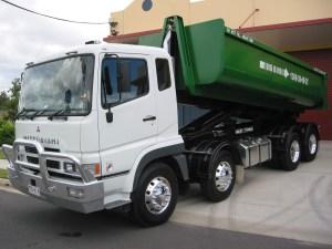 Big Bins Brisbane - Big Bins Truck