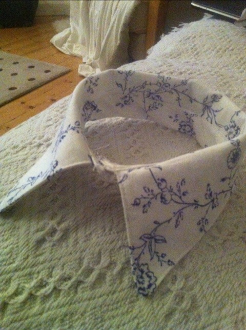 DIY detachable collar pattern tutorial (1/4)