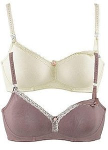 Curvissa Nursing Bras - £32 for 2 (B cup only up to 44B)