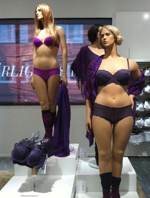 Swedish Mannequins at Åhléns