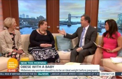 Big Birtha on GMB with Piers and Susanna