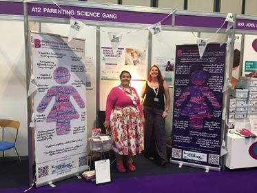 Our stand at Primary Care and Public Health 2019 - talking to Health Care Professionals about Plus Size Friendly Care