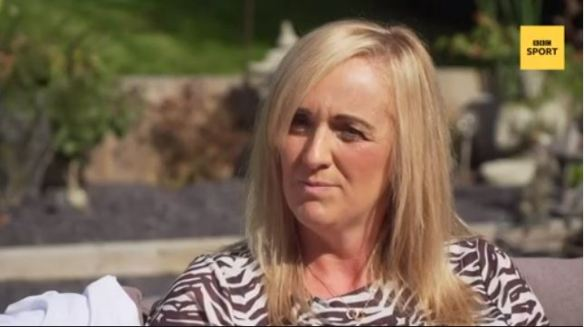 Tracey Neville speaking to BBC Sport about negativity in pregnancy