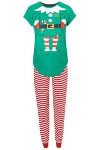 Elf On The Way Maternity Pyjama Set