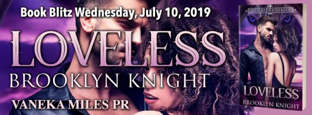BOOK BLITZ Loveless: A BWWM Wolf Shifter Romance (The Alpha Series, Book #2) by Brooklyn Knight