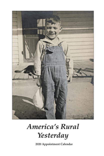 America's Rural Yesterday Engagement Calendar