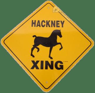 Hackney Xing Sign