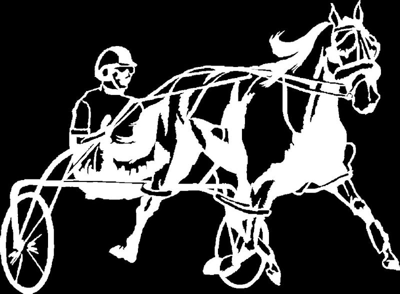 Harness Racing Horse Decal