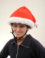 Santa Helmet Cover