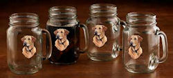 Yellow Lab Jar Mug
