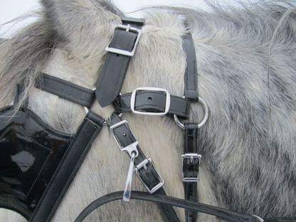 Can't rub off adapter on ring style bridle