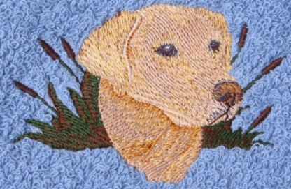 Yelllow Labrador Dog Design