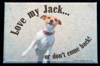 Love my Jack... Magnet