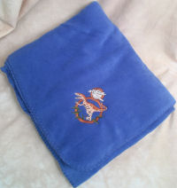 Other Designs Embroidered Throws