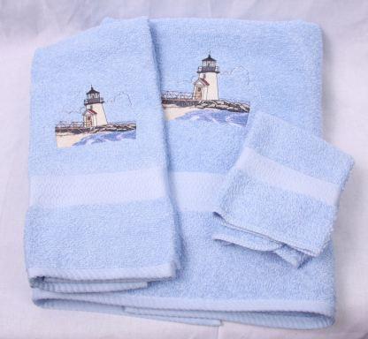 Brant Point Lighthouse Towel Set