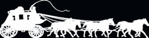 Stagecoach White Decal