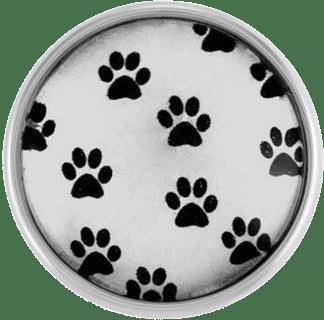 Standard Ginger Snaps SN20-52 – Black Paw Print